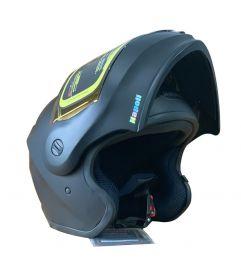 Napoli N125 Black Motorcycle Helmet