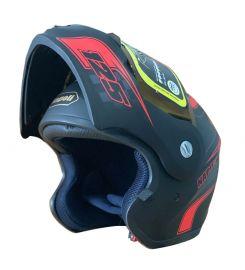 Napoli N125 Graphic Motorcycle Helmet