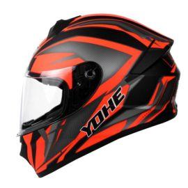 Yohe 977 Full-Face Helmet (Black Yellow)