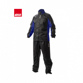 Givi Rider Tech Rain Suit 07 - Black/Blue
