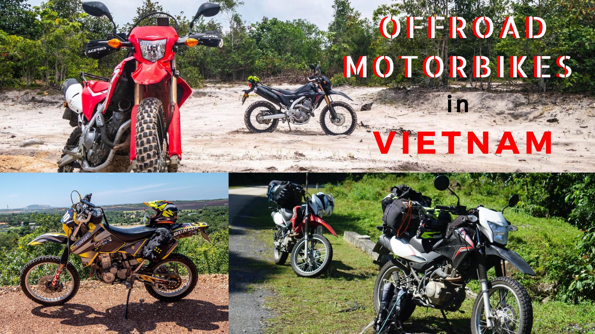 Offroad Motorbikes in Vietnam
