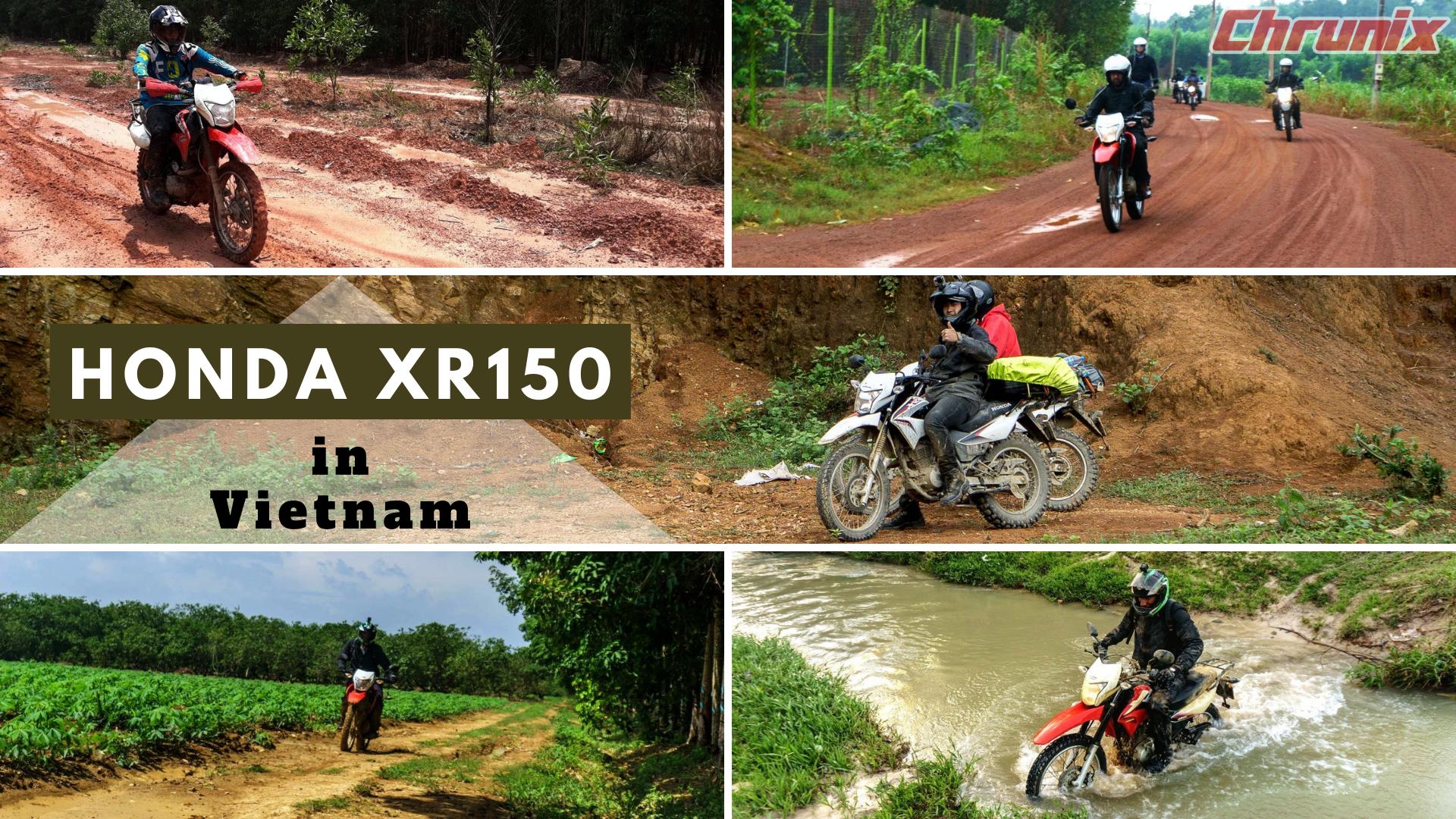 The Honda XR150 for Vietnam