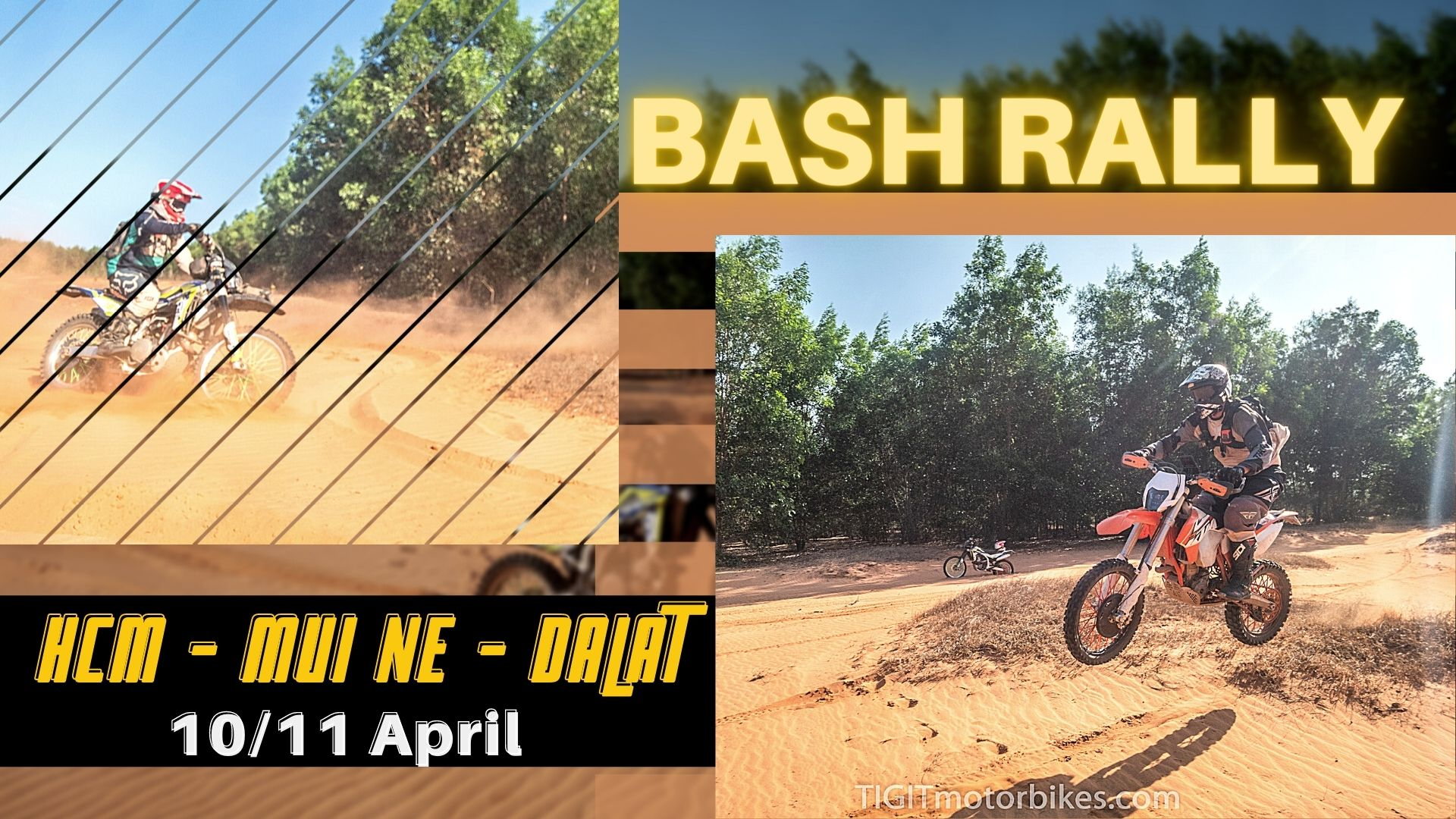 Bash Rallies HCM, Mui Ne Dalat - 10/11 April