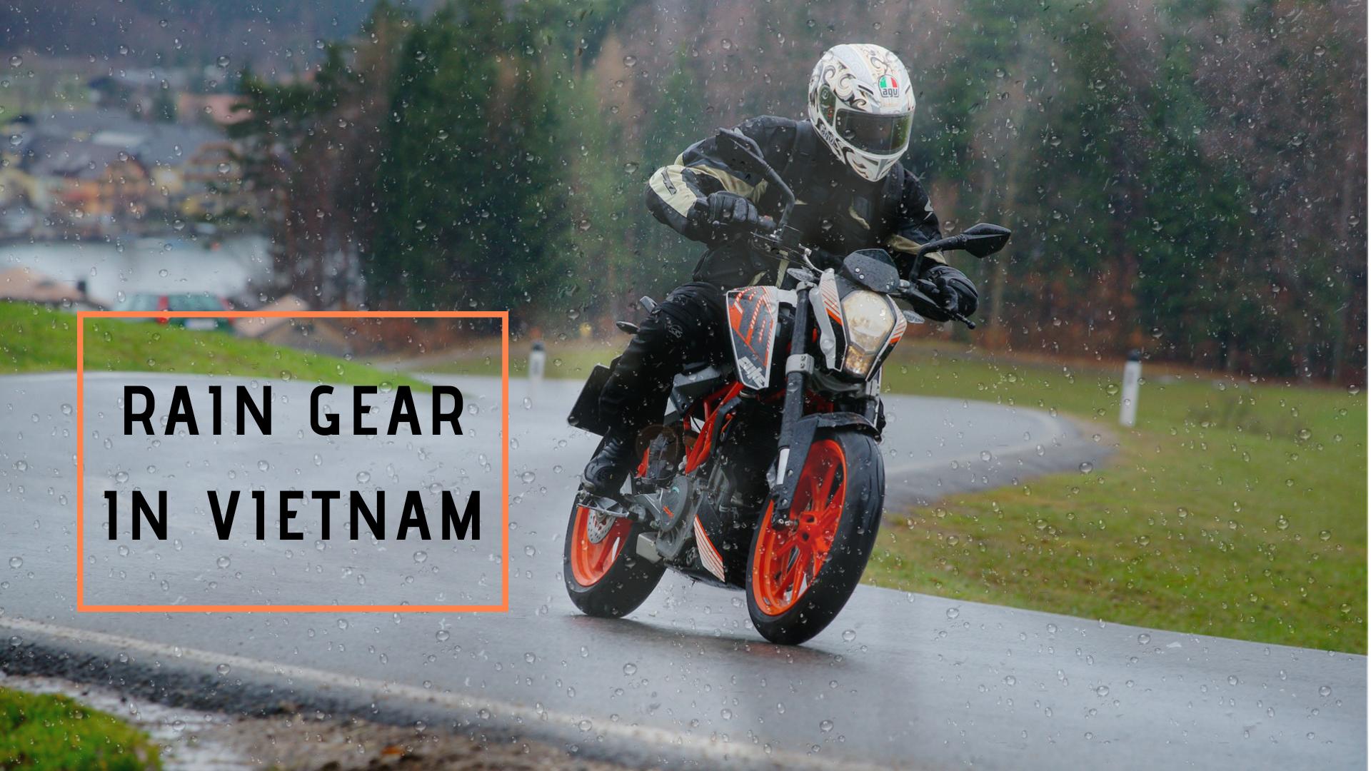 Rain gear in Vietnam