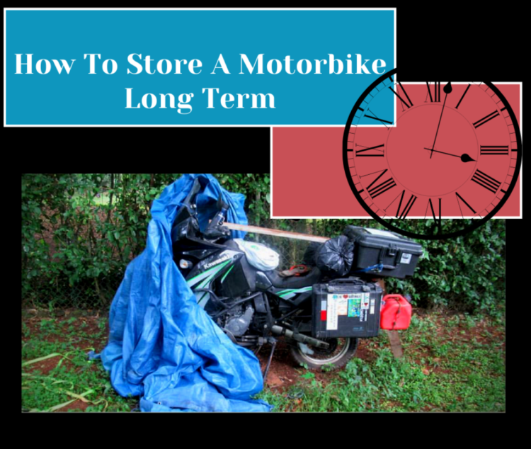How To Store A Motorbike Long Term Safely